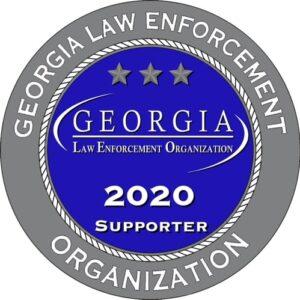 2020 Georgia LEO Support Sticker