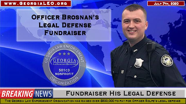 Atlanta Police Officer Brosnan